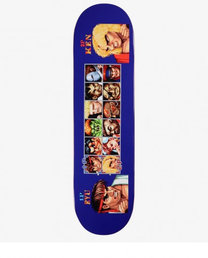 HUF X STREET FIGHTER PLAYER SELECT DECK 8.25