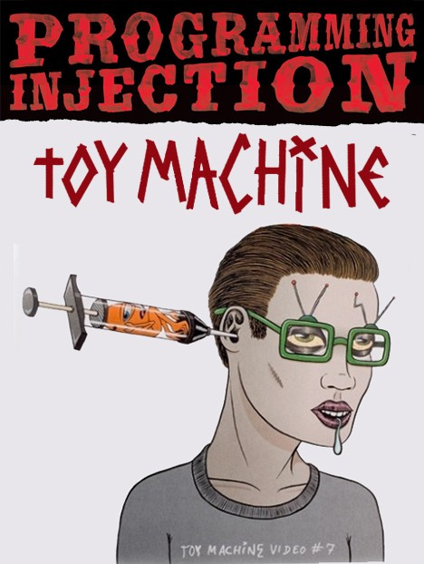 TOY MACHINE PROGRAMMING INJECTION